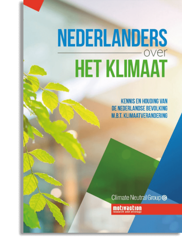 Whitepaper<br /> <strong>Nederlanders over het klimaat</strong>